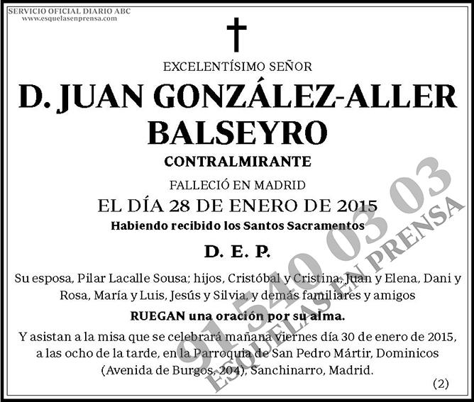 Juan González-Aller Balseyro